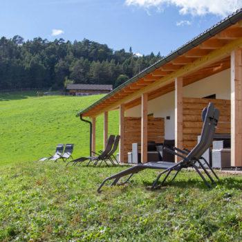 Ferienwohnungen mit Liegewiese am Oberpfaffstallerhof auf dem Ritten